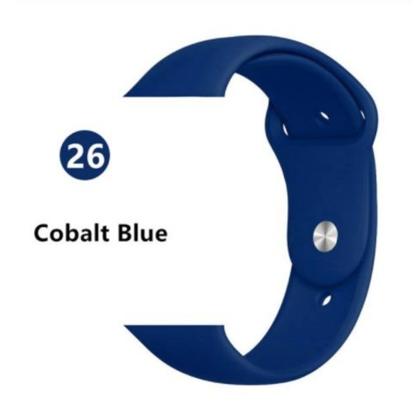 Other - *❤️NEW Blue Sport Silicone Band For Apple Watch